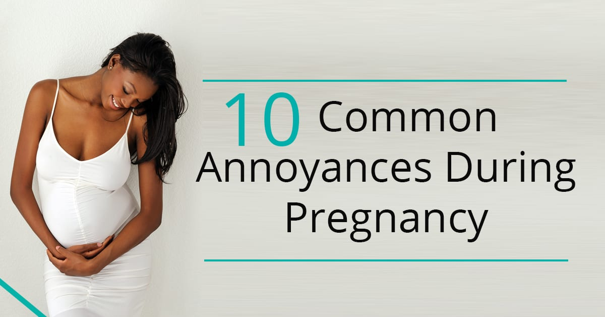 Third Trimester of Pregnancy Annoyances | Ask Dr Sears