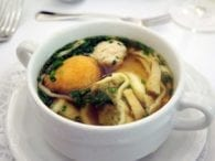 Starvation Ketosis relief white cup table chicken soup
