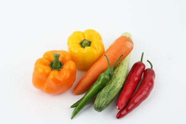 Different types of veggies that are good for you