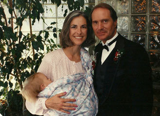 Dr. Bill and Martha with Baby