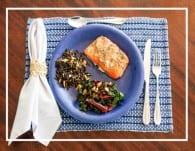 Sears Family Dinner Salmon Wild Rice & Chard