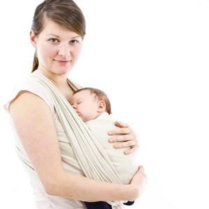 safe baby wearing