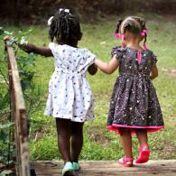 little-girls-walking