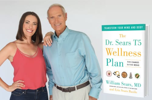 dr bill and erin sears new t5 book