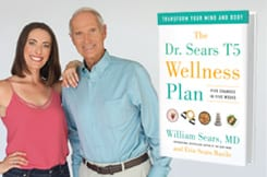 dr bill and erin sears with t5 wellness plan book