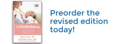 Sears The Breastfeeding Book - Preorder the revised edition today!