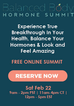 hormone balance summit feb 22