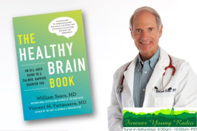 Healthy Brain Book and Dr Bill image